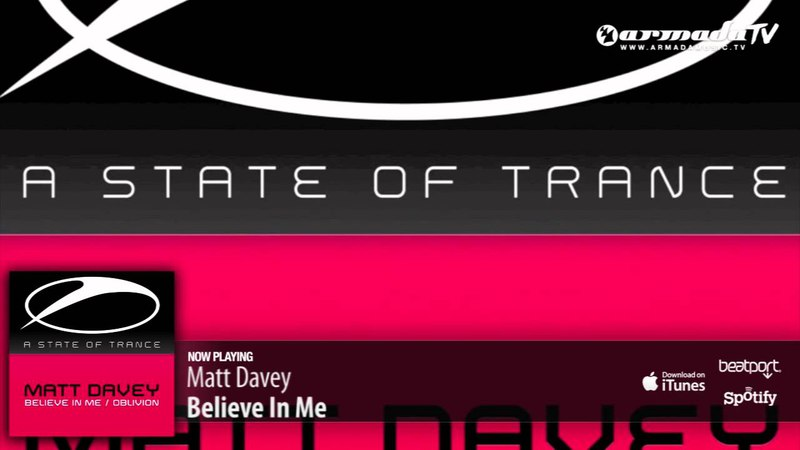 Matt Davey - Believe In Me (Original Mix)