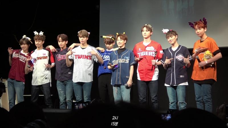 FANCAM | 28.04.18 | Chan @ UNB 5th Fansign Jayla Art Hall