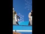 [Фанкам] 180219 Фокус на Чансона @ 2018 PyeongChang Winter Olympic Headliner Show - Rehearsal