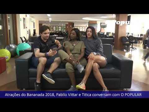 Pabllo Vittar e Titica conversam e respondem aos leitores do jornal O Popular.