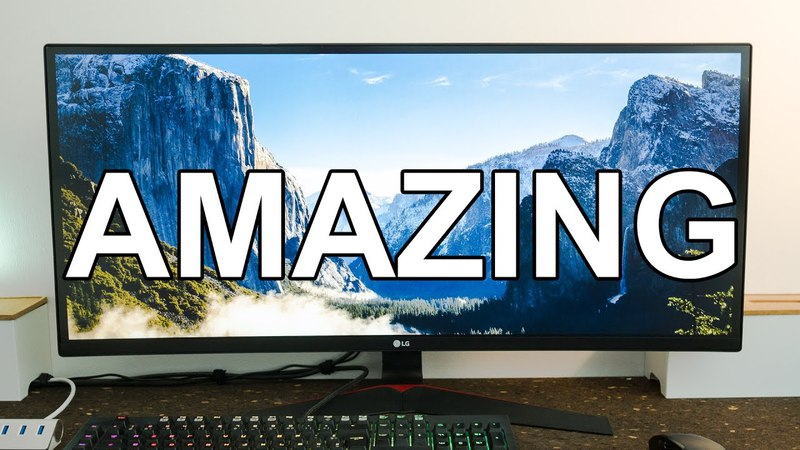 LG 34UC79-G Ultrawide 144Hz Freesync Gaming monitor review
