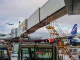 ПОСАДКА ПРИ СИЛЬНОМ ВЕТРЕ Аэропорт Шереметьево Аэрофлот Airbus A321 -211 VP-BAF