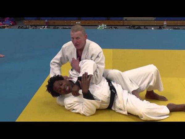 Judo Juji gatame part 4 Steve Gawthorpe Series 2