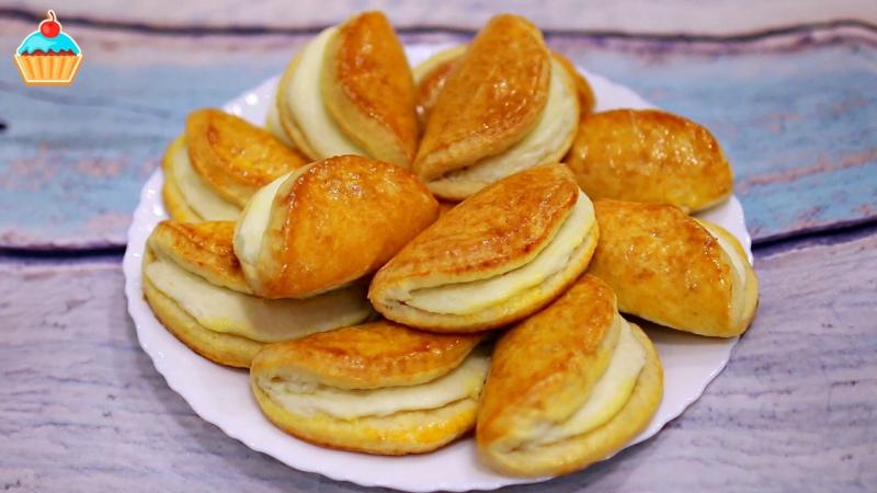 Десерты • СОЧНИКИ С ТВОРОГОМ или сочни с творожной начинкой - ну, оОчень вкусные!