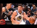 Golden State Warriors vs San Antonio Spurs Full Game Highlights / Game 4 / 2018 NBA Playoffs