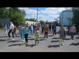 День защиты детей..Школа-интернат №2...Флешмоб..