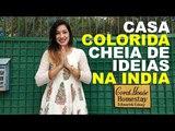 CASA COLORIDA CHEIA DE IDEIAS NA INDIA - AGRA - CIDADE DO TAJ MAHAL