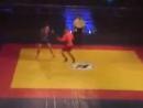 Тайский боксер Против борца