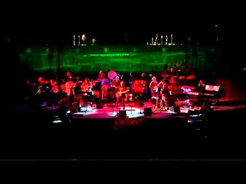 Bear McCreary plays with Katee Sackhoff 'All Along The Watchtower' Live.avi