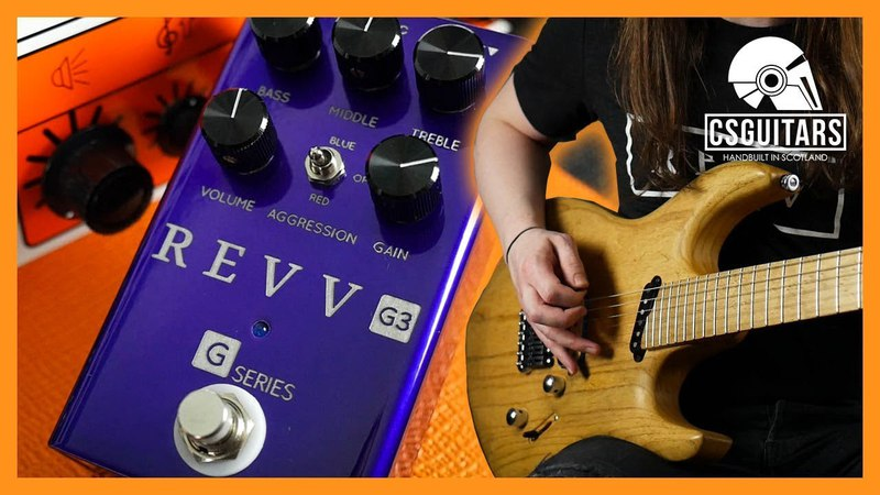 Revv G3 | High Gain Distortion Pedal That Doesn't Sound Shite!