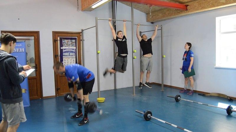 CrossFit-заруба в Феодосии 15.04.2018. Мужчины Б. 2 Задание