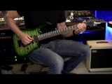 Kiko Loureiro - Megadeth Tornado of Souls - Practicing at home