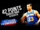 Trey Burke Career-HiGH 42 Pts 2018.3.26 NY Knicks at Hornets - 42-12! | FreeDawkins
