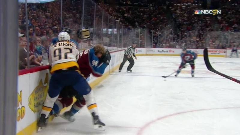 Nashville Predators vs Colorado Avalanche 18 04 2018 Round 1 Game 4 NHL Stanley Cup Playoffs 2018