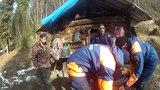 Спасатели рассказали, как эвакуировали охотника из отдаленного зимовья в Бурятии
