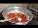 Огурцы консервированные в томатах Салат из огурцов на зиму Заготовки консервация закрутки