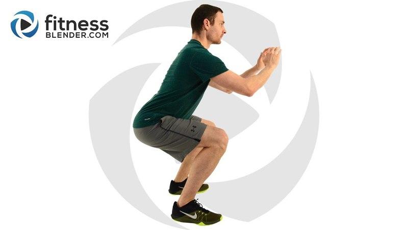 FitnessBlender - Cardio HIIT Workout | Интервальная кардио-тренировка без инвентаря