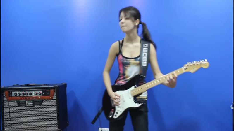 Juliana Vieira_ Enter Sandman (Metallica) Cover