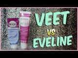 VEET vs EVELINE Какой крем для депиляции лучше Victoria Space