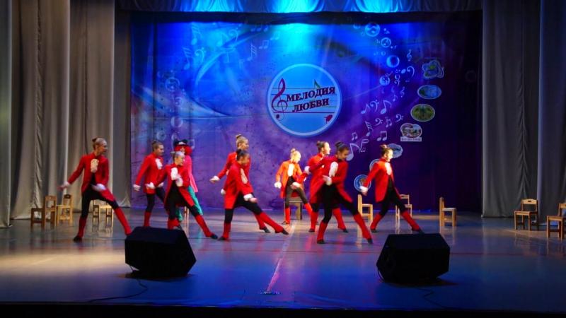 Танец Шляпника. Международный конкурс Ветер перемен. Город Рязань