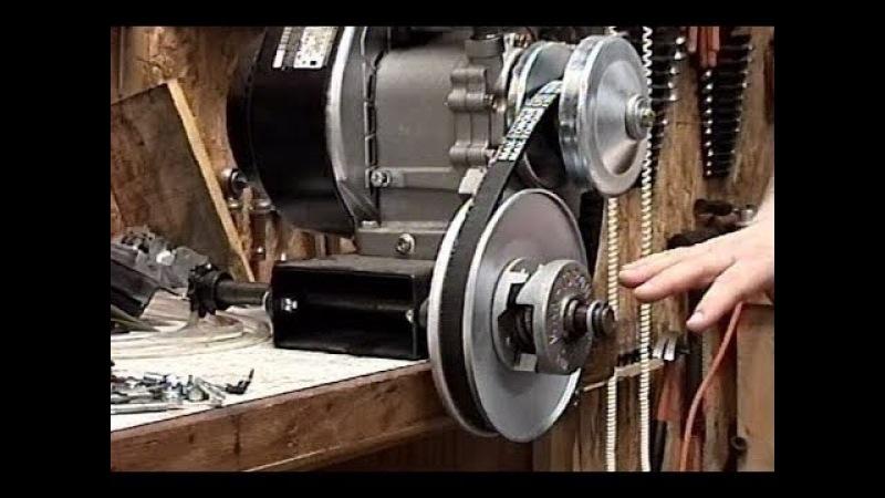 SUPER POWER! Predator 420cc Honda Engine Torque Converter Quick Install -Part 5