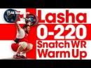 Lasha Talakhadze 0 220kg Snatch World Record Warm Up 2017 World Championships