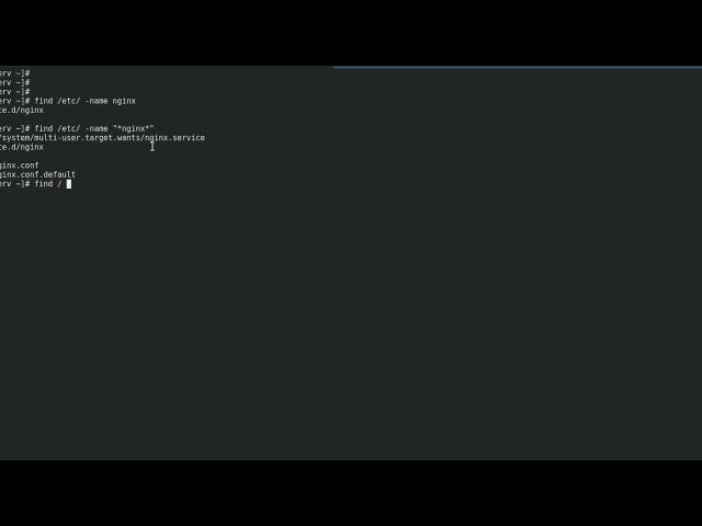 LFCS   Поиск файлов с помощью find   Fedora 26