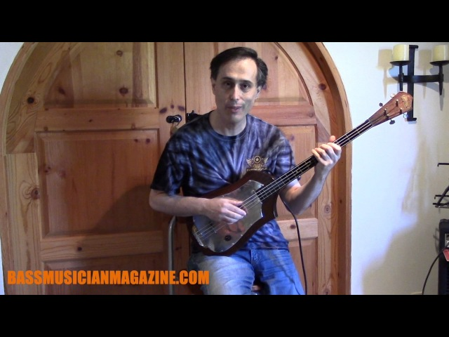 Bass Musician Magazine Tutmarc Bass Fiddle 736