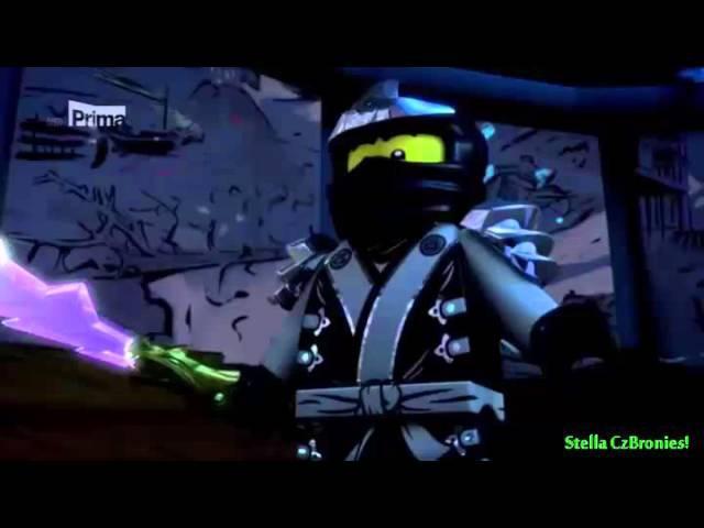 Ninjago l Cole's moonwalk scene