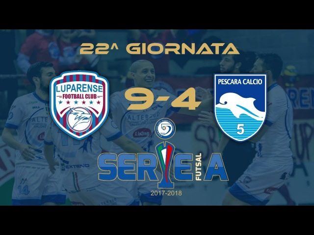 C5 | Highlights Luparense - Pescara 9-4 22^ giornata Serie A