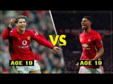 Marcus Rashford vs 19 yo Cristiano Ronaldo ~ The Next CR7 - Manchester United HD