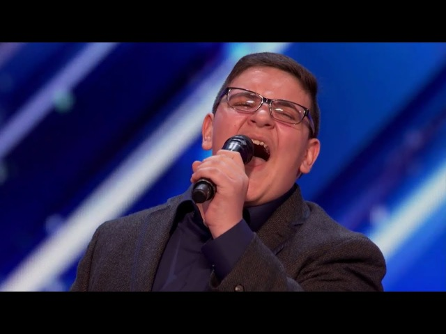 Christian Guardino 16-Year-Old Singer Golden Buzzer AGT2017 Audition【GTF】