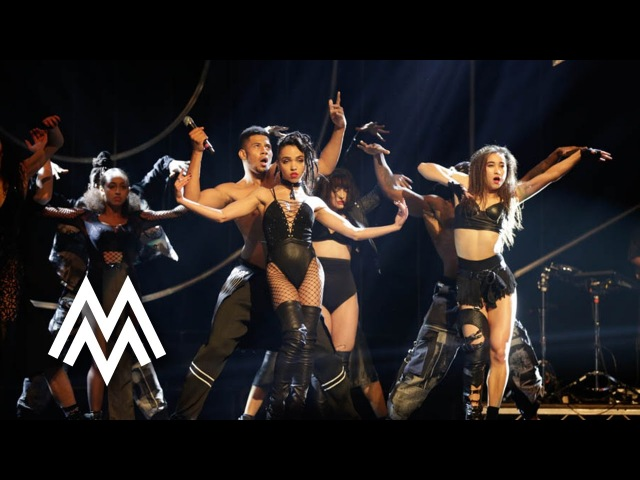 FKA twigs | 'Figure 8' 'In Time' live at MOBO Awards 2015 | MOBO