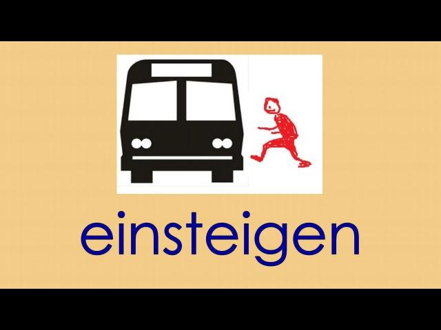 Deutsch Wortschatz 3 sich in der Stadt bewegen