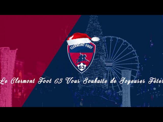 Le Clermont Foot 63 vous souhaite de Joyeuses Fêtes vidéo Dailymotion