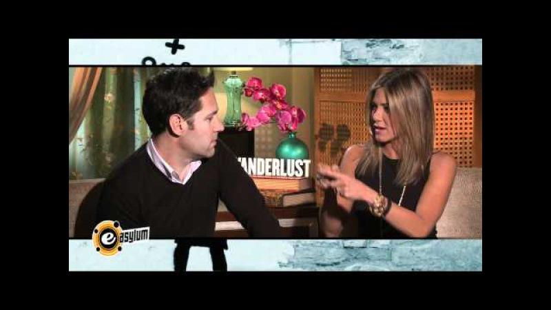 Paul Rudd Jennifer Aniston on Nudists Genital Grooming