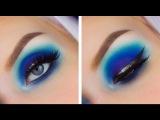 Electric Blue Dramatic Eyeshadow Tutorial