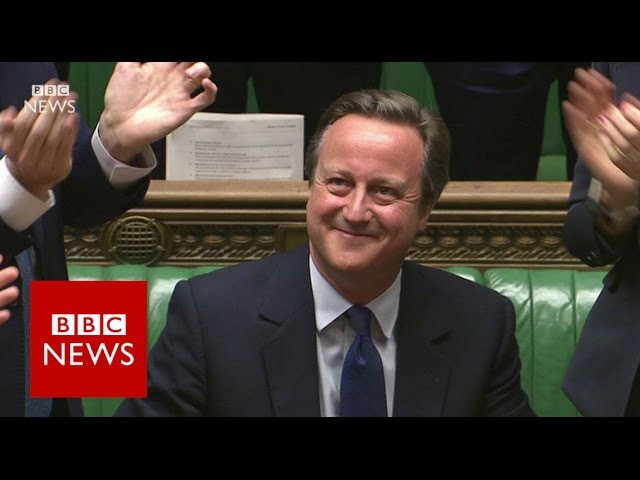 David Camerons final Prime Ministers Questions (highlights) BBC News