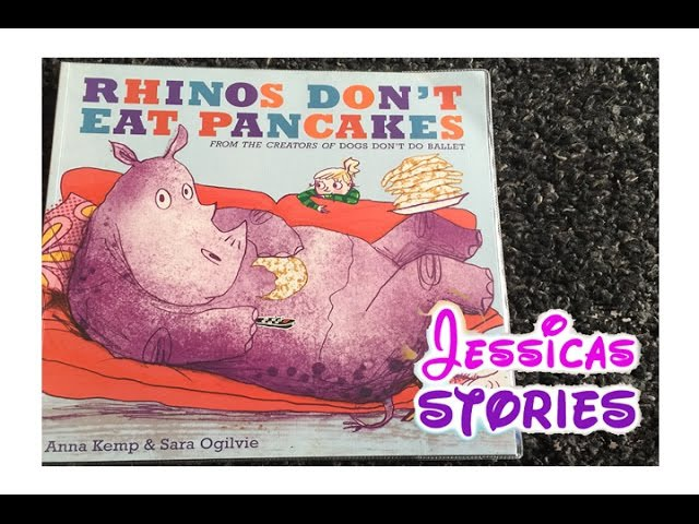 RHINOS DONT EAT PANCAKES - Childrens and Kids Narrated Story Book