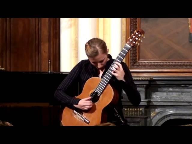Irena Babáčková plays Johann Kaspar Mertz Barden Klänge op. 13