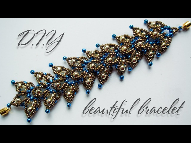 Bracelet | How to make bracelets | DIY | Beaded Bracelet Tutorial | Black Pearl