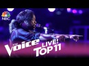 The Voice 2017 Davon Fleming - Top 11: I Have Nothing