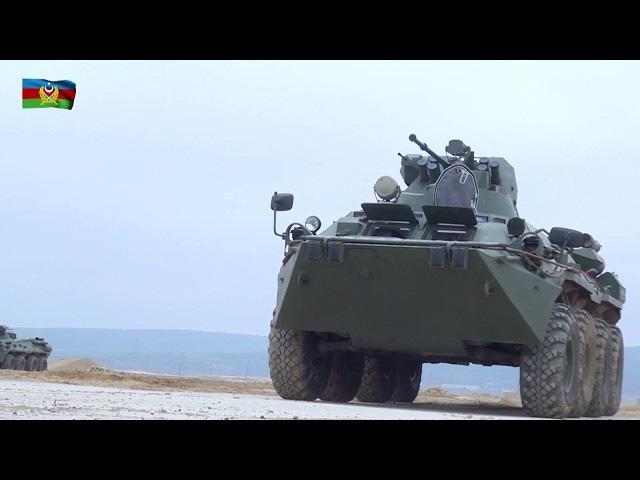 Rusiyadan gətirilən hərbi texnikanın bir hissəsi silahlanmaya daxil edilib - 08.02.2018
