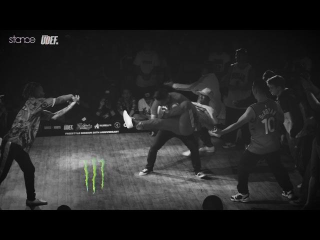 Kadetes Del Toke vs Supernaturalz [top 32] ► .stance x Freestyle Session 2017