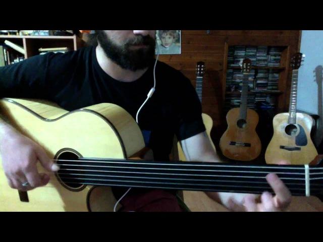 Fretless Guitar- Yaram sızlar ağrır başım perdesiz gitar aranjmanı Gilad Weiss