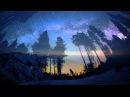 Красивое видео звездного неба. TimeLapse.