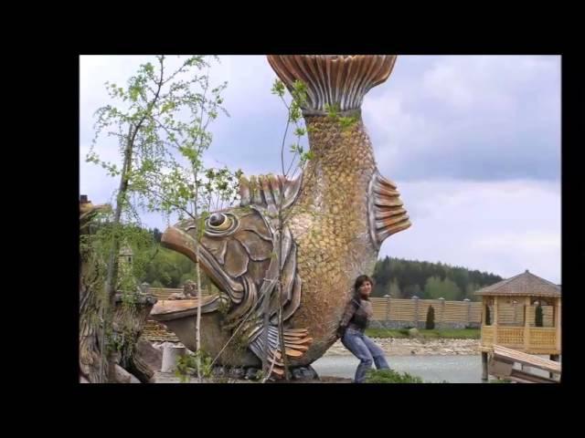 Превосходные скульптуры для сада из бетона