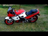 Kawasaki GPZ 600 Ninja - 1987 - Cold start Engine Sound Exhaust D