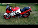 Kawasaki GPZ 600 Ninja 1987 Cold start Engine Sound Exhaust Dźwięk silnika Praca silnika