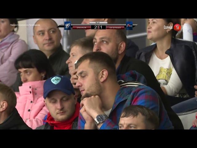 17.10.2017 ХК Сахалин победил в серии домашних матчей с Oji Eagles